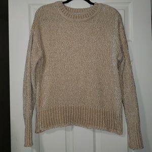 Soft, darker cream color, sweater, great condition
